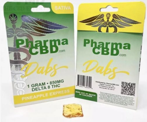 Buy Pineapple Express Delta 8 THC Dabs